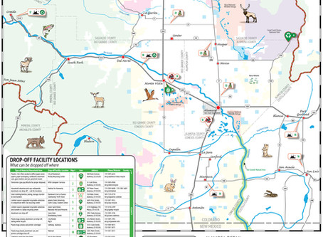 NEW SAN LUIS VALLEY RECYCLING MAP