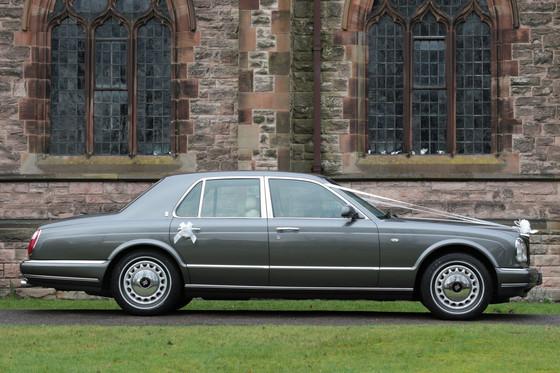 Rolls Royce Silver Seraph wedding car