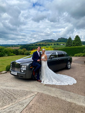 Wedding Car Three Horse Shoes Country Inn and Spa