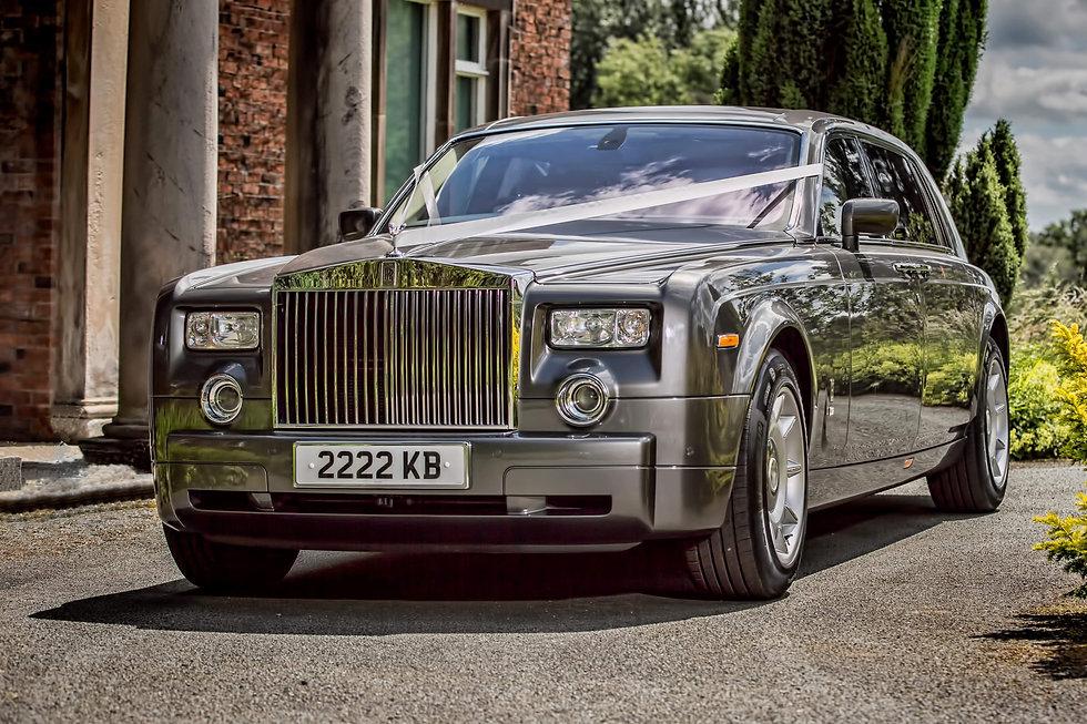 Rolls royce phantom weddings at consall