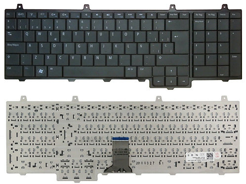 Teclado genuino Ingles DELL Inspiron 1750