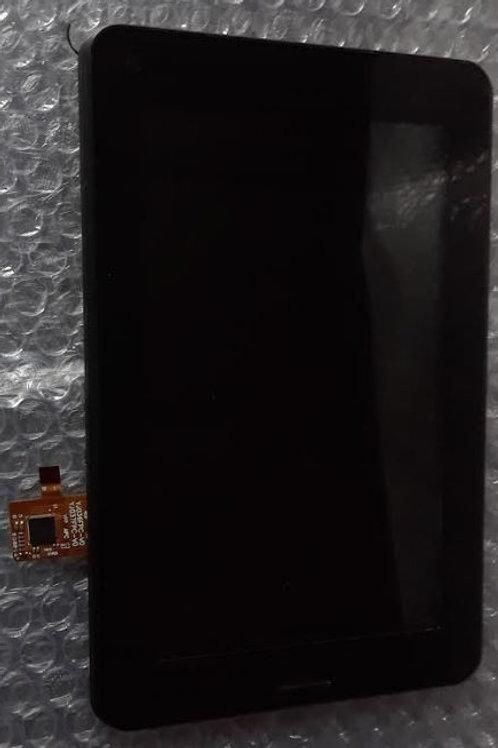 """Modulo Pantalla 6.9"""" + Touch Negro"""