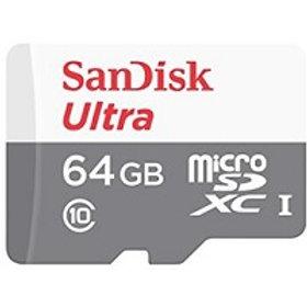 Memoria Micro SD flash SanDisk Ultra - 64 GB