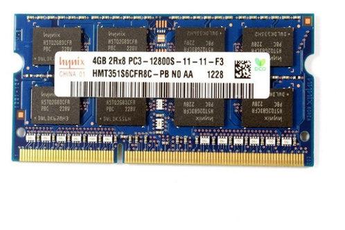 Memoria Ram de 4GB 1Rx8 PC3-12800U-11-12-A1
