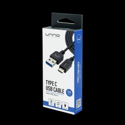 Cable UNNO USB tipo C