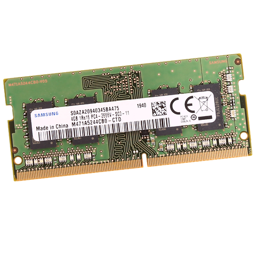 Memorias RAM de 4GB DDR4 LAPTOP PC4-2666V