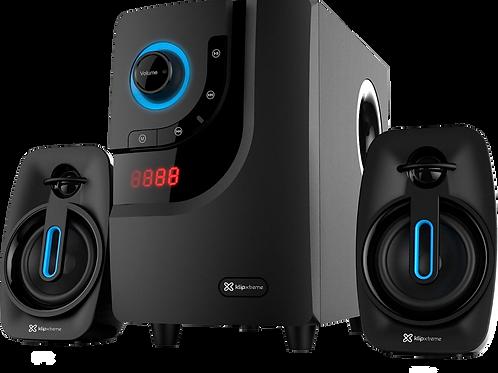 Sistema de Sonido Bluetooth Klip Xtreme KWS-616 - 2.1 40W - Wireless