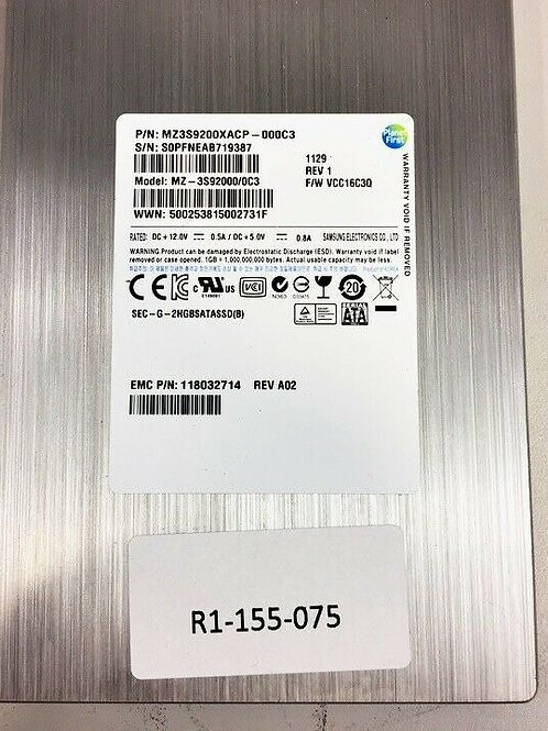 "Disco Duro SAMSUNG SSD 200GB de 3.5"""
