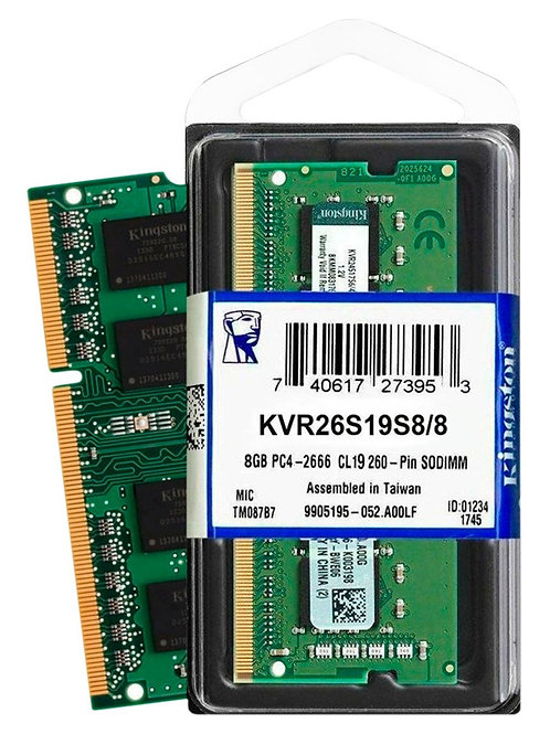 Memoria RAM 8GB DDR4 PC4-2666 para Laptop