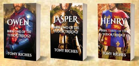 Tony Riches...guest blog invite