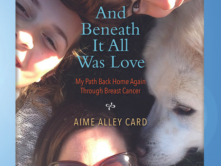 Book Review...And Beneath It All Was Love: My Path Back Home Again Through Breast Cancer