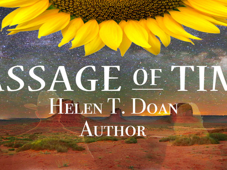 ReadersMagnet article about how I came to write Passage of Time