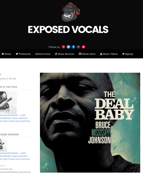 Exposed Vocals Interview.