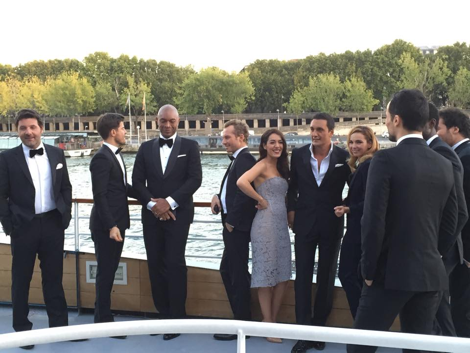 Forever Gentlemen on the seine