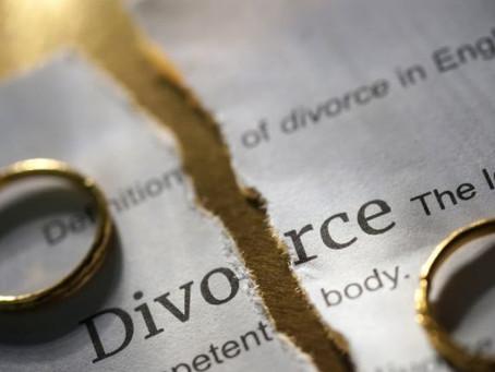 Divorce : baisse progressive du droit de partage
