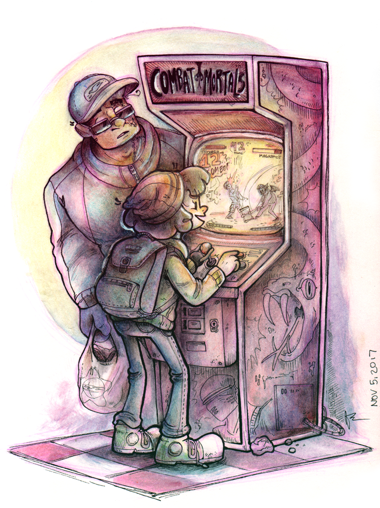 Arcade Visit (Small)