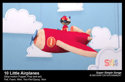 10 Little Airplanes