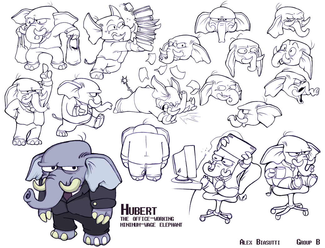 Hubert Character Sheet