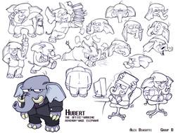 Hubert Character Sheet