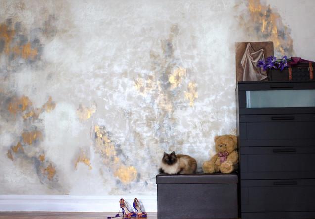 Decorative wall finish