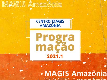 Centro MAGIS Amazônia divulga calendário de atividades do primeiro semestre