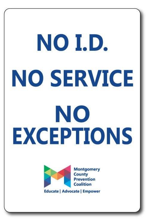 No ID- Festival Sign