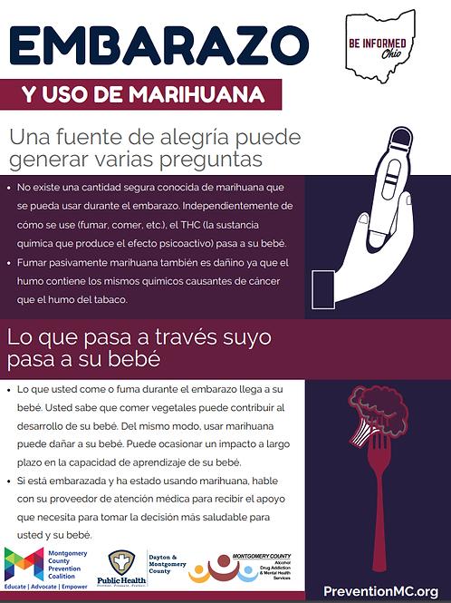 Pregnancy/Breastfeeding and Marijuana (Spanish)