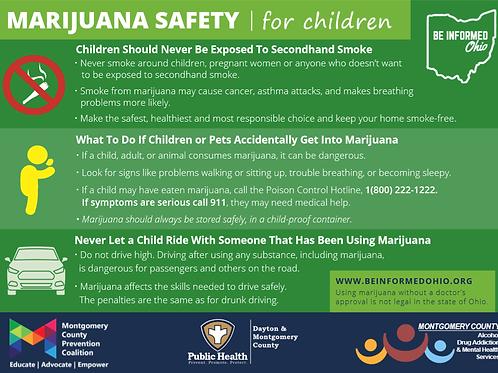 Marijuana Parent/Guardian Safety Cards