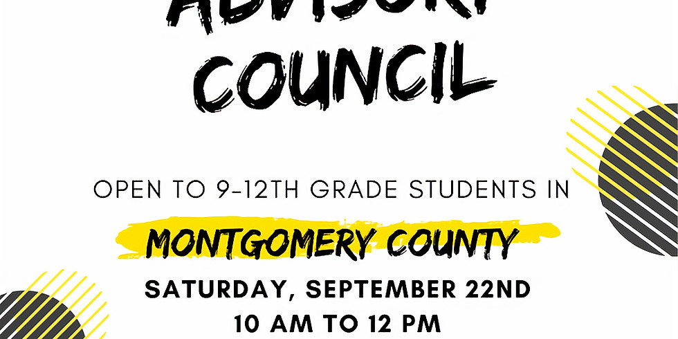 Youth Advisory Board Kick-Off Meeting