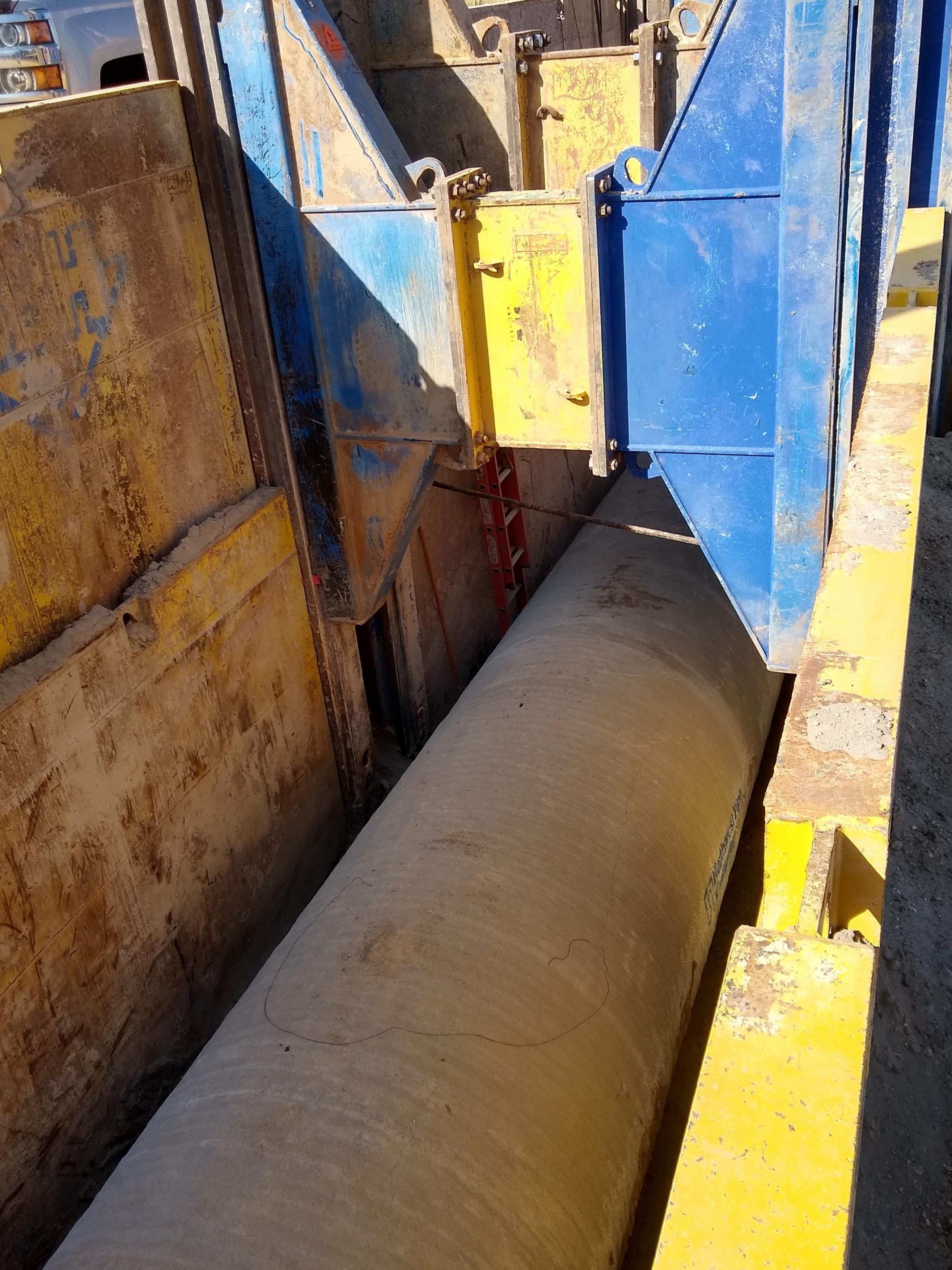 Slide Rail Trenching