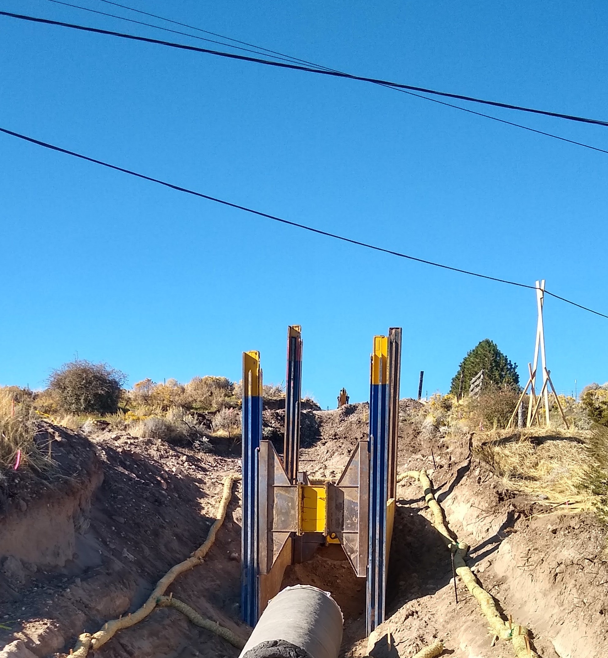 Placing Pipe Up-Slope