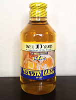 yellow label