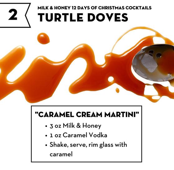 Caramel Cream Martini
