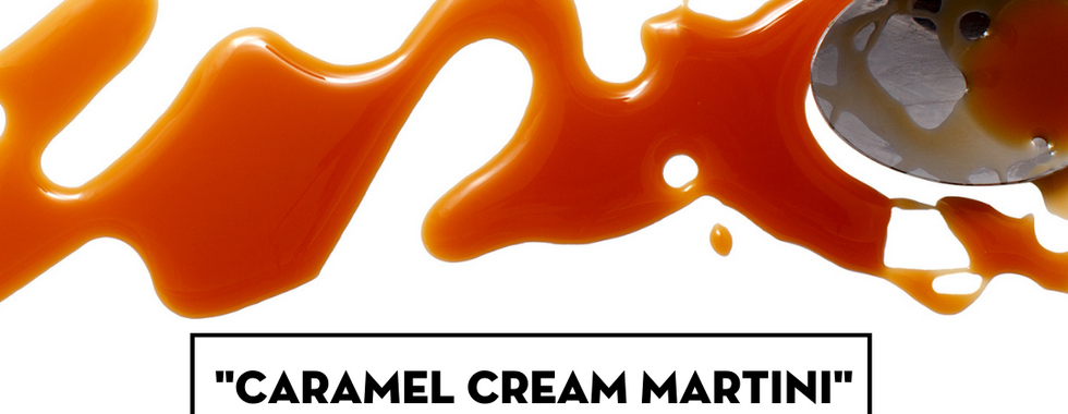 Caramel Cream Martini