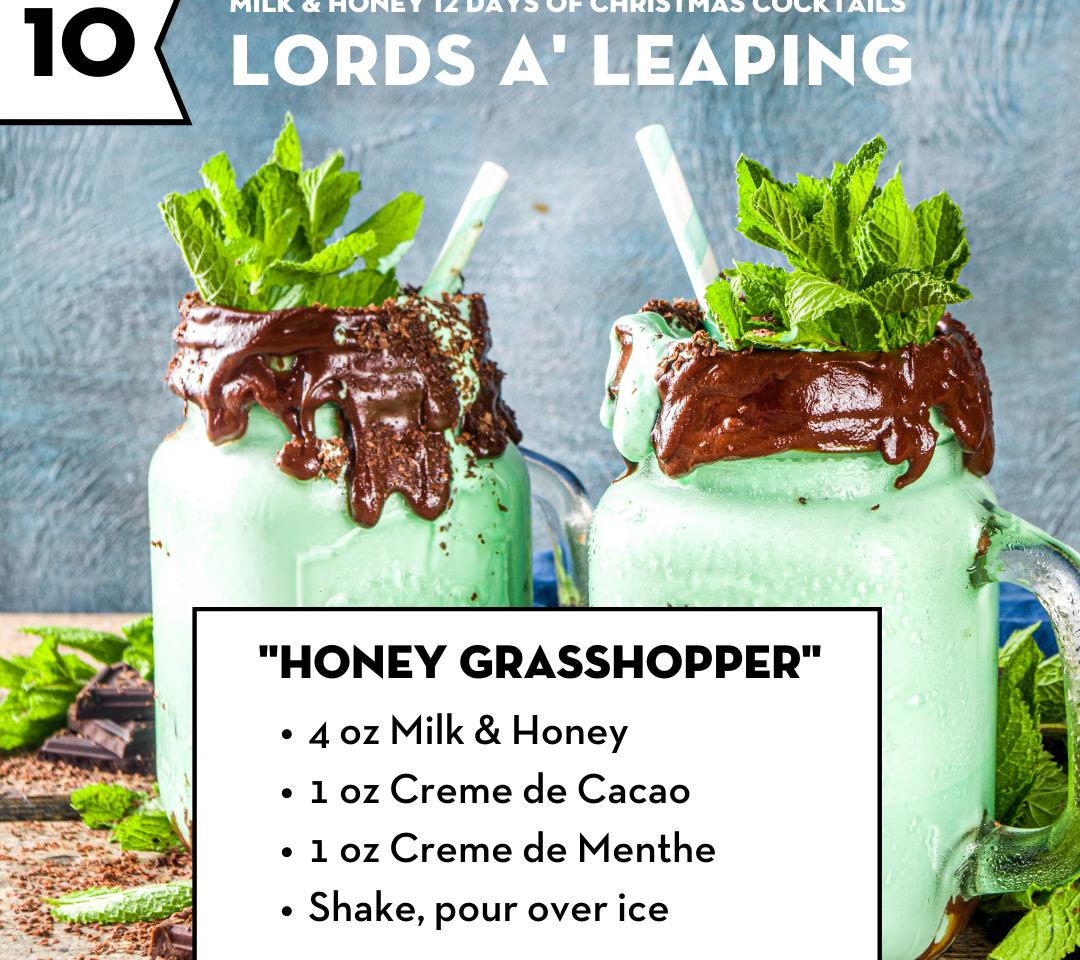 Honey Grasshopper