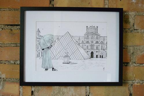 La Demoiselle du Louvre