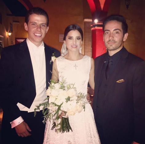 Andrea y Juan Mari