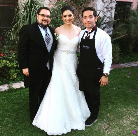 Gloria y Javier