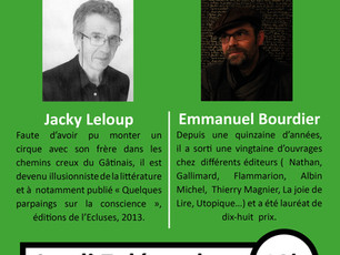 Rencontre littéraire à Orléans
