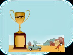 Lauréat Renard'eau 2016 !