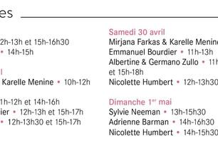 Salon de Genève: Mes signatures