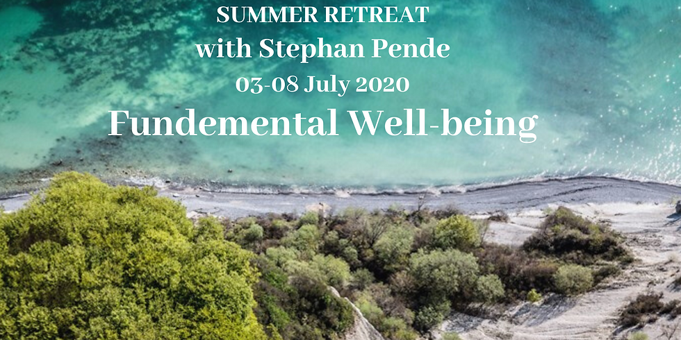 Summer Retreat 2020 with Stephan Pende