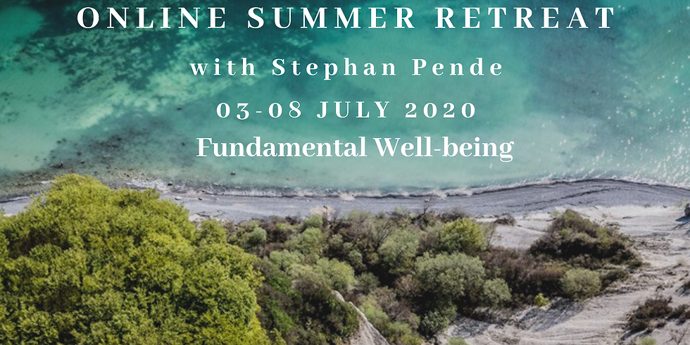 Online Summer Retreat 2020 with Stephan Pende
