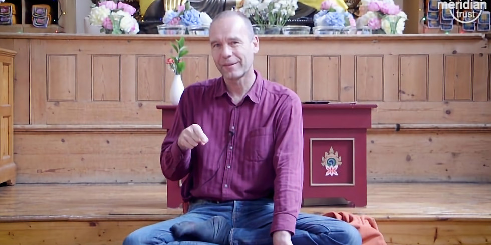 Physical Meeting at Phendeling: Beyond Mindfulness with Stephan Pende