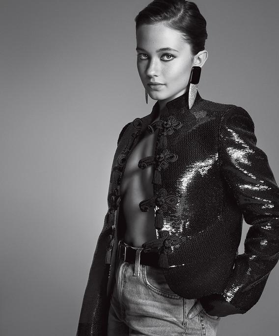 Cailee Spaeny / Saint Laurent / V Magazine