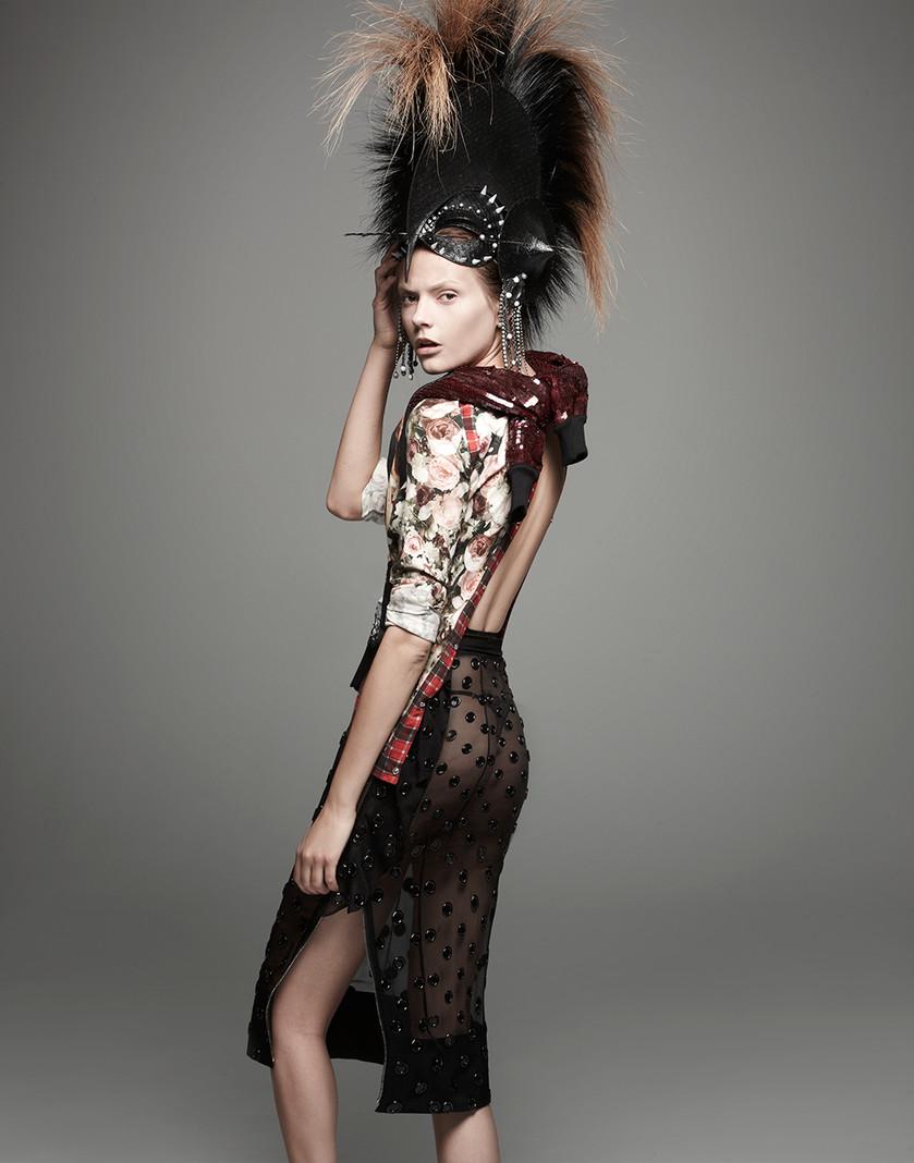 Givenchy & Phillip Treacy