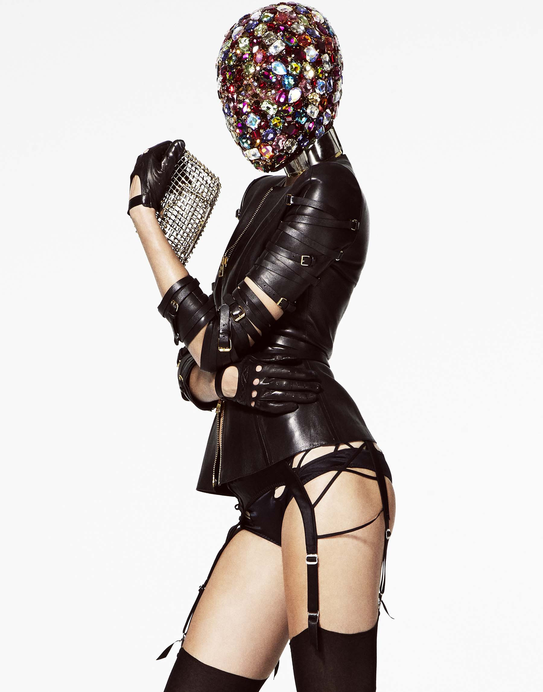 Tom Ford & Phillip Treacy / Josephine Skriver / V Magazine