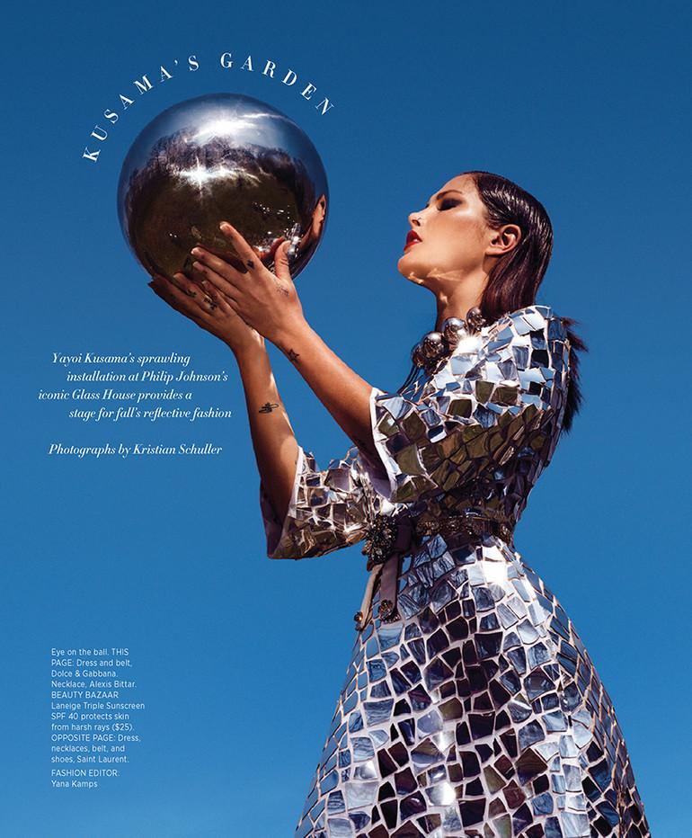 Catherine McNeil / Dolce Gabbana