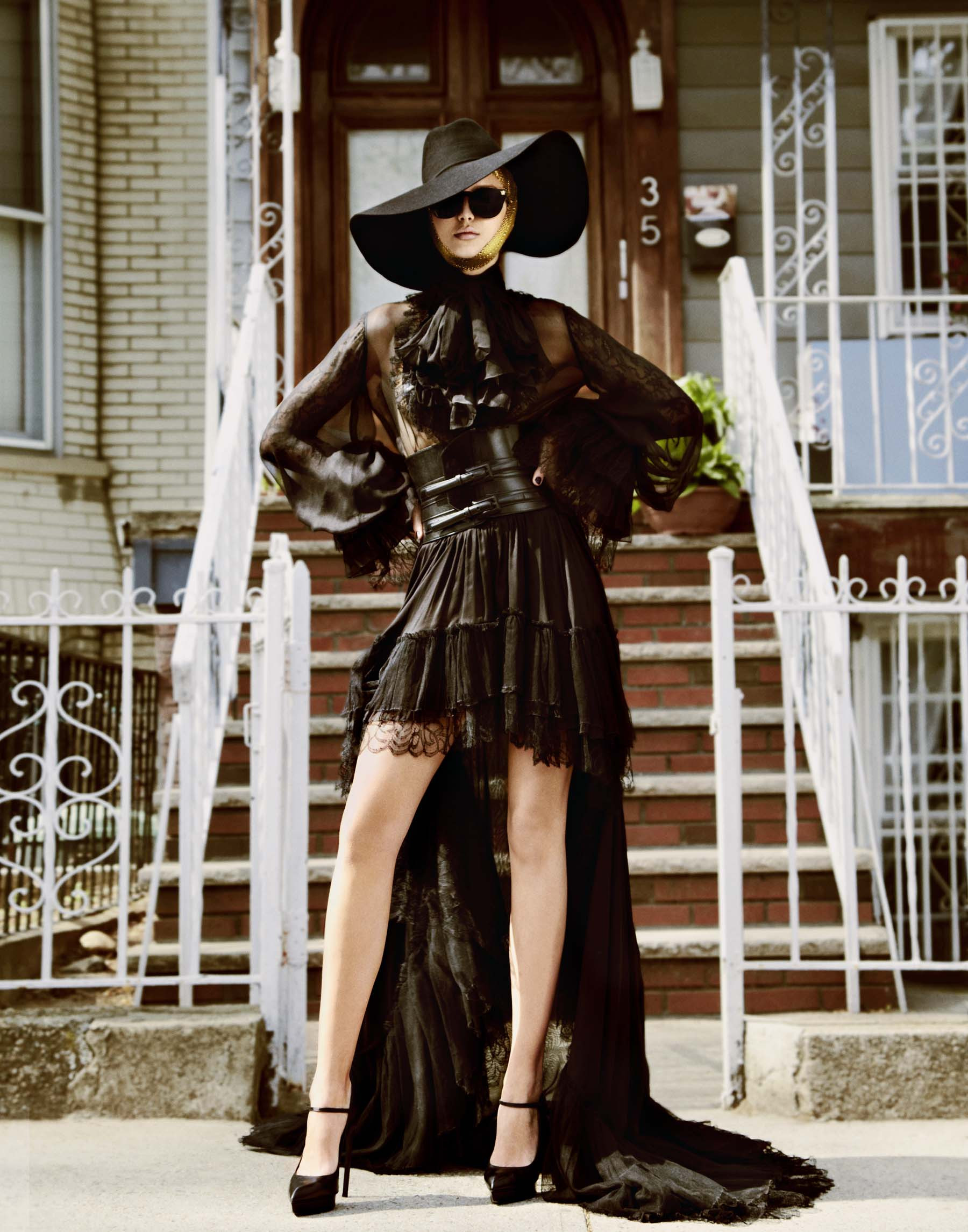 Saint Laurent / Josephine Skriver / V Magazine