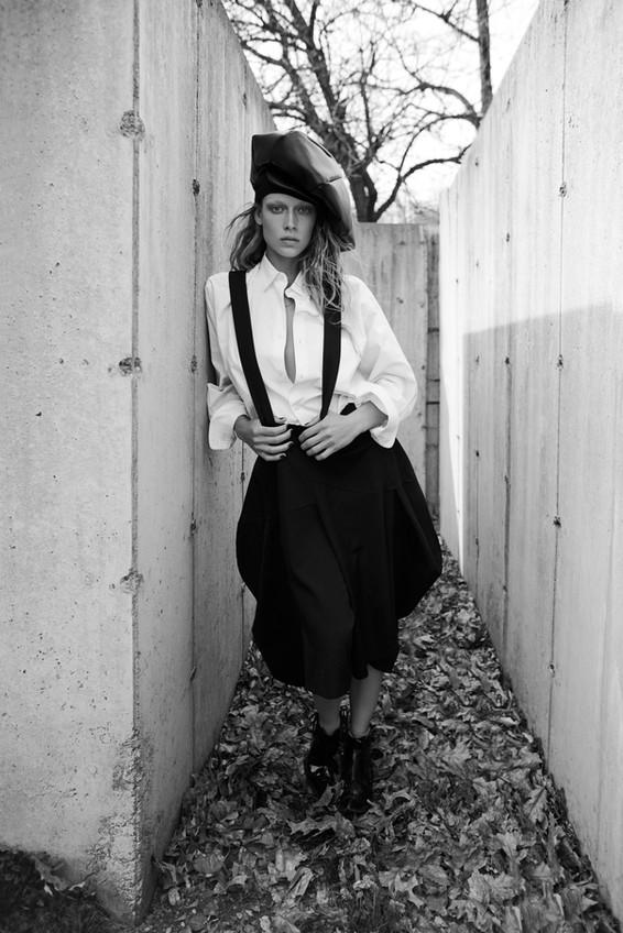 Hannah Ferguson / Comme Des Garçons Special / Miguel Reveriego